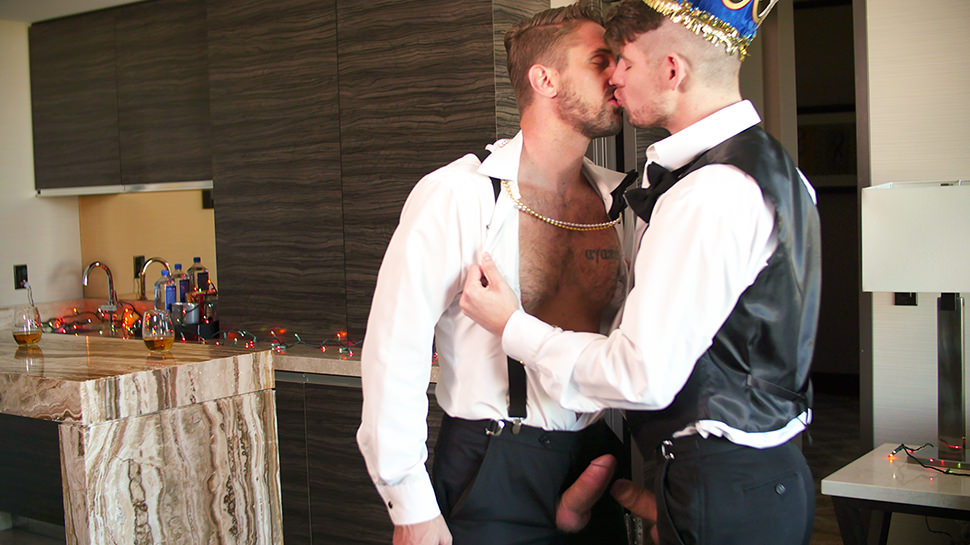 Connor Halsted Wesley Woods in Happy New Year - GayRoom Perfect nude wives