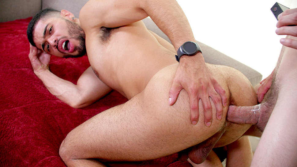 Angel Duran in Angel Duran - GayRoom cars and naked girl
