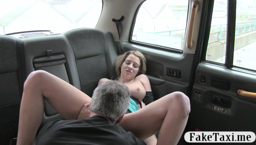Busty amateur blonde customer all holes railed for free