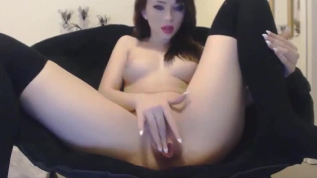 college girl with a sexy tight body squrting for her new fuckfriend Skinny Whore Love cocks