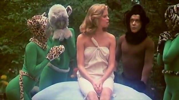 Kristine DeBell, Bucky Searles, Gila Havana in classic fuck scene