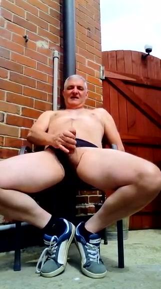 Garden panty wank to make penis bigger and
