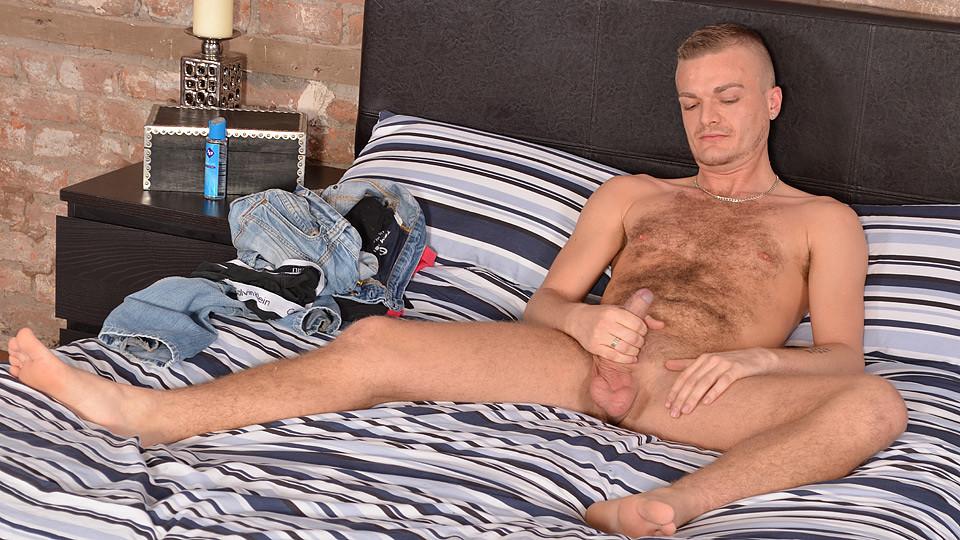 Stroking With Hairy Luke - Luke Stacks - BlakeMason Sexy girl boob.com
