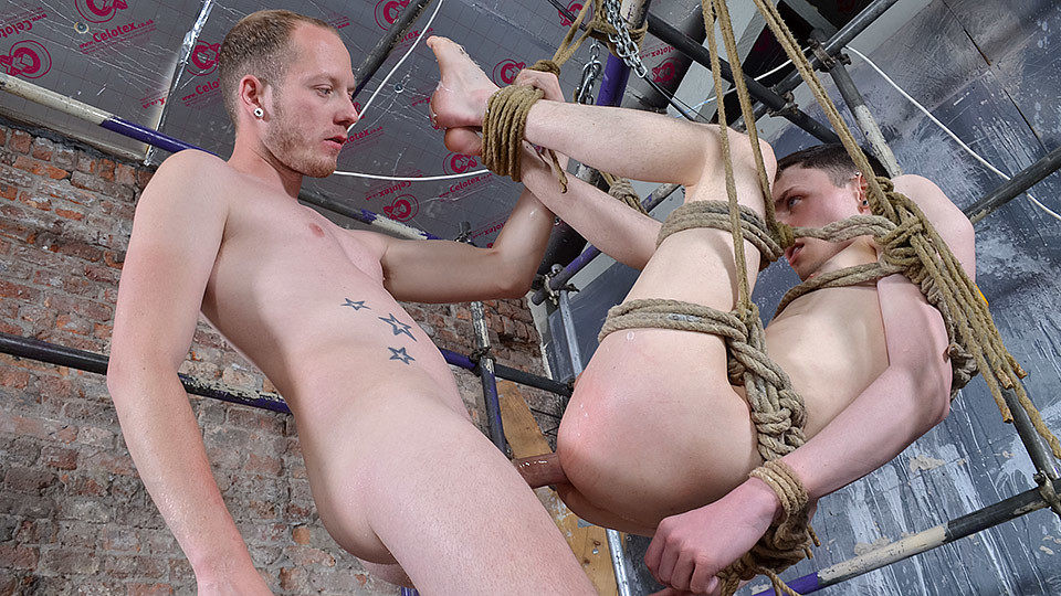 Twink Hole Fully Dominated - Aaron Aurora Sean Taylor - Boynapped Divine strapon fuck