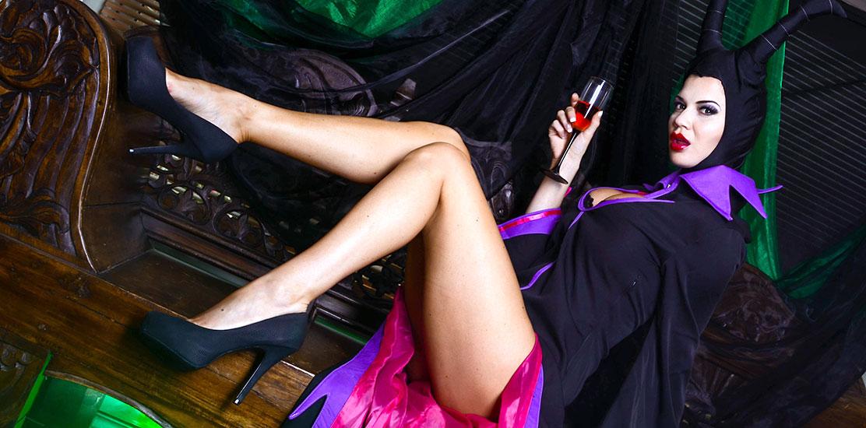 Jasmine Jae in Mistress Of All Evil Scene