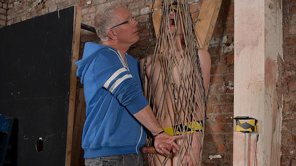 Sweet Twink Drained Of Cum In A Rope Cage - Jonny Pistol Sebastian Kane - Boynapped My aunt took my virginity