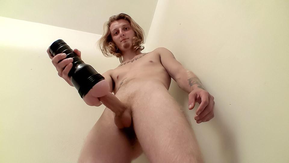 Str8 Boy Polishing His Rocket - Kenneth Slayer - StraightNakedThugs Porn star christie