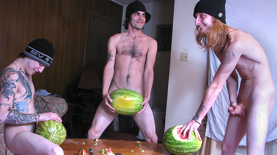Have You Ever Fucked A Watermelon? - Devin Reynolds, Blinx Kenneth Slayer - StraightNakedThugs Rules to couples having a threesome
