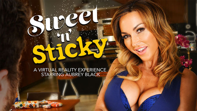 Sweet n Sticky featuring Aubrey Black - NaughtyAmericaVR 5th grade sexy girls naked
