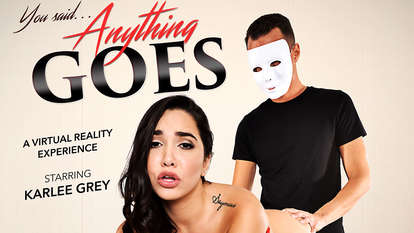 ANYTHING GOES featuring Karlee Grey Blue cat furry hentai