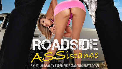 Roadside ASSistance featuring Busty sheer see through lingerie