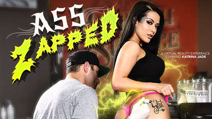 Ass Zapped starring Katrina Jade Asian mpeg adult