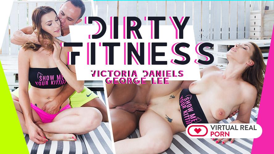 George Lee  Victoria Daniels in Dirty fitness - VirtualRealPorn
