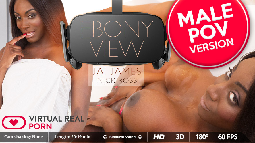 Jai James Nick Ross in Ebony view (Male POV) - VirtualRealPorn Grim adventures of billy and mandy hentai