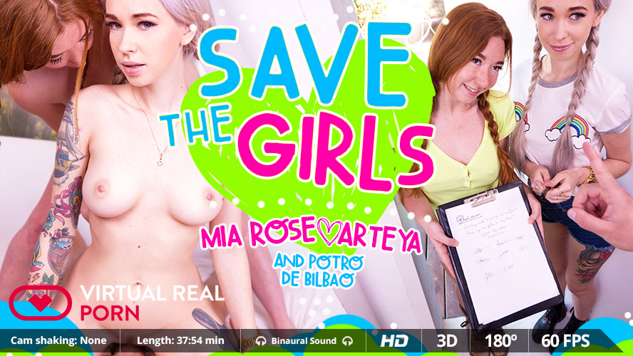 Arteya Mia Rose Potro de Bilbao in Save the girls - VirtualRealPorn milf porn sites search