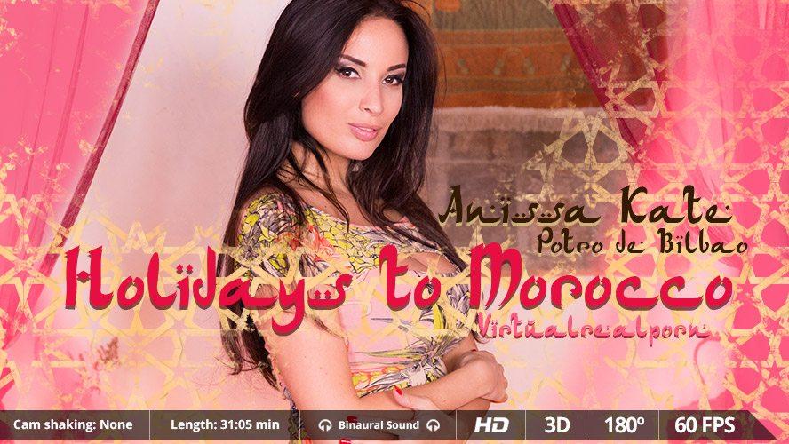 Anissa Kate  Potro de Bilbao in Holidays to Morocco - VirtualRealPorn