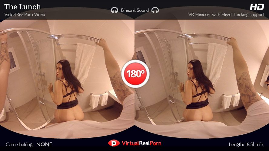 Hannah Shaw Potro de Bilbao in The Lunch - VirtualRealPorn the best sex toy for men