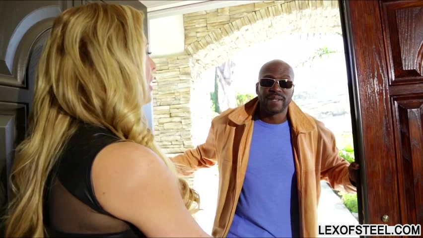 Amazingly hot MILF Cherie Deville destroyed by Lexington Steele Hot shemale getting fucked free