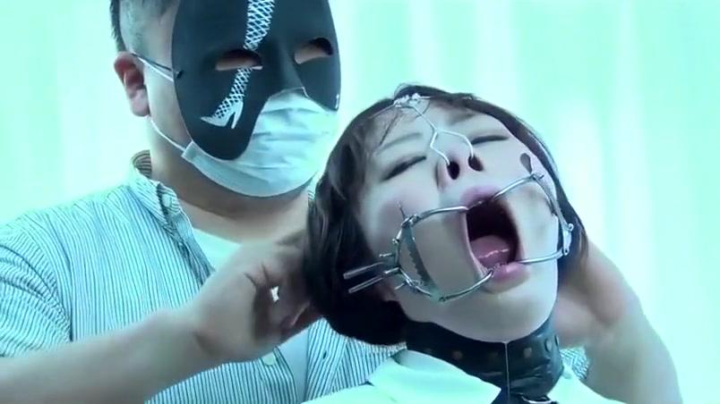 Sexy Asian girl bondage Ass drilling hole