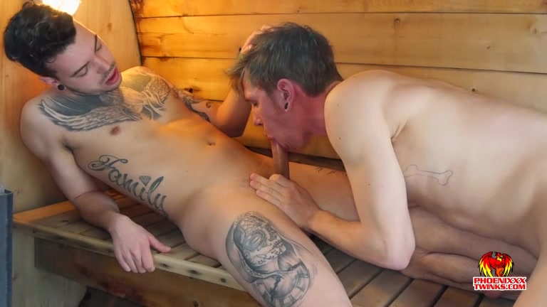Eight Inches Below: Hot in the Sauna, Hotter in the Bedroom - Jo Diamond Roscoe Hayes - PhoeniXXX Well built shemale ass tube