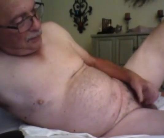 grandpa stroke on webcam Bikini exposed spread eagle shots