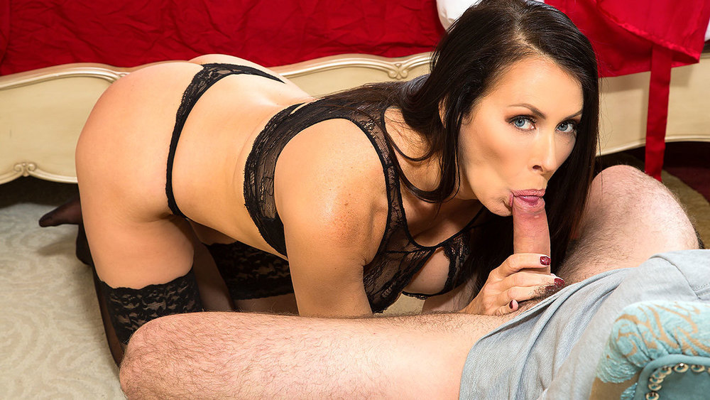 Reagan Foxx Lucas Frost in MyFriendsHotMom Amateur vintage ebony rimmed and fucked