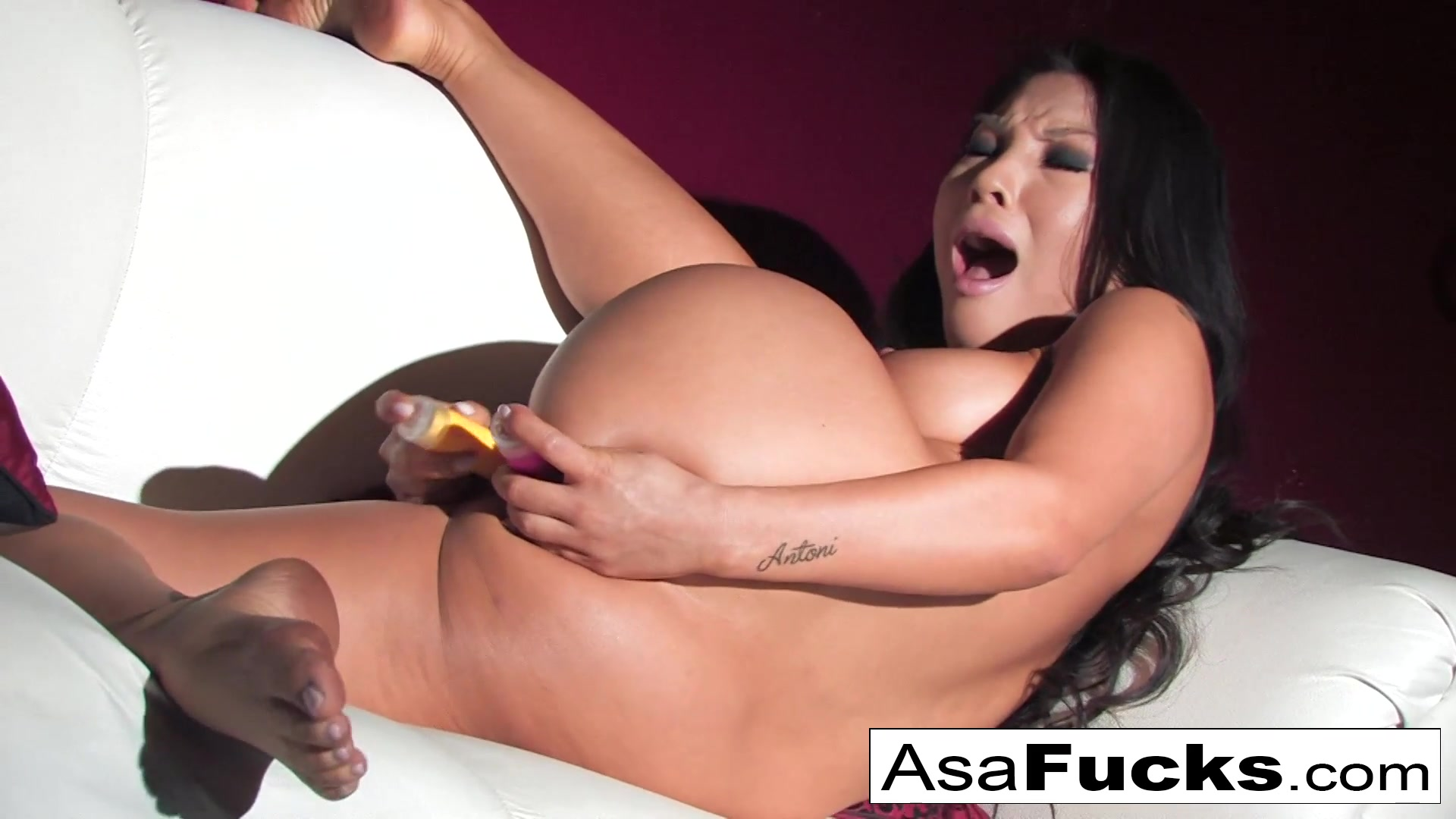 Asa Akira in Asas Hot Two Toy Dp - AsaAkira Latina With Huge Ass Gets Fucked