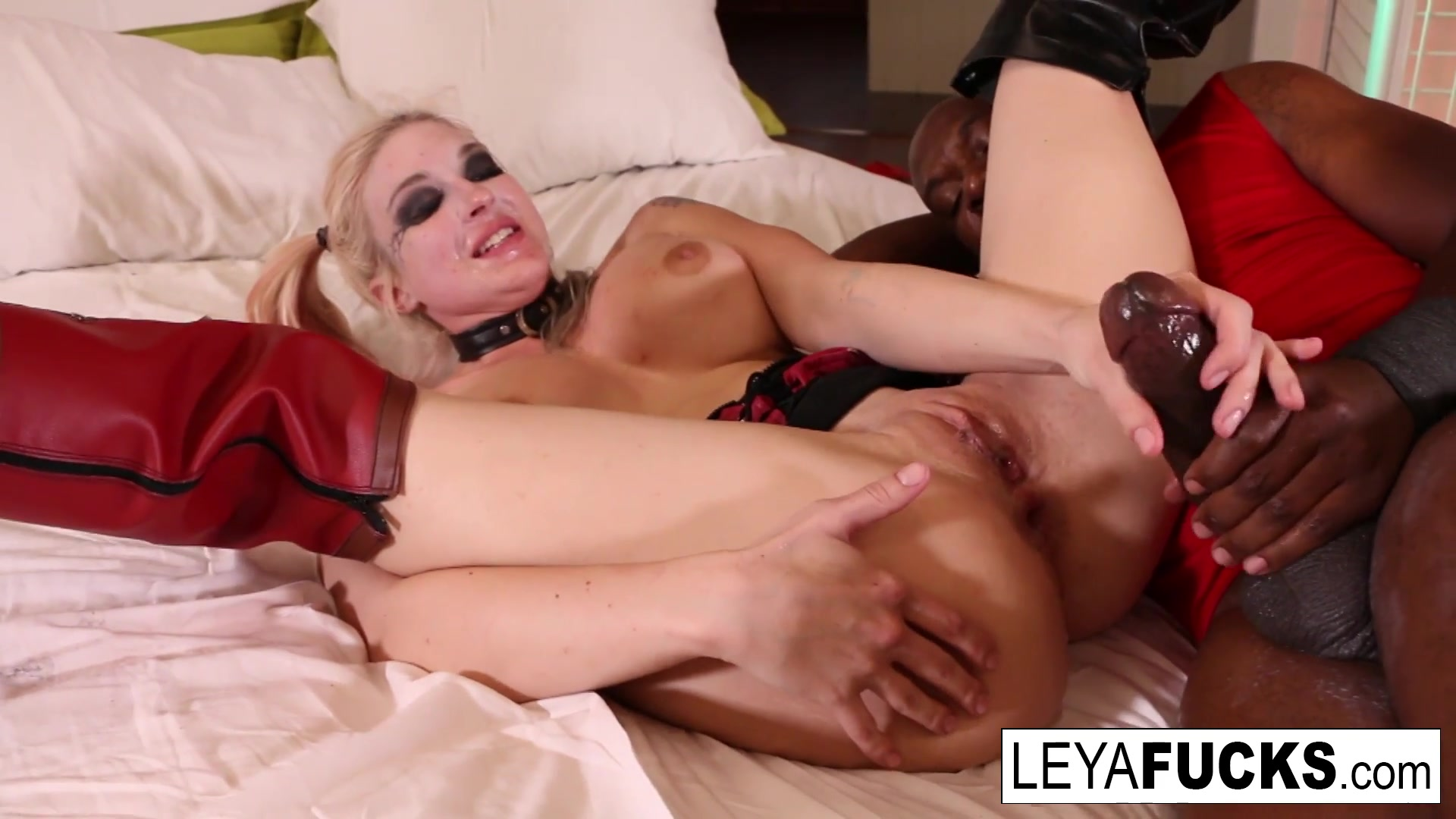 Leya Falcon in Cos Playing Leya Takes Mandingos Bbc Up Her Ass - LeyaFalcon julie ann kulla nude