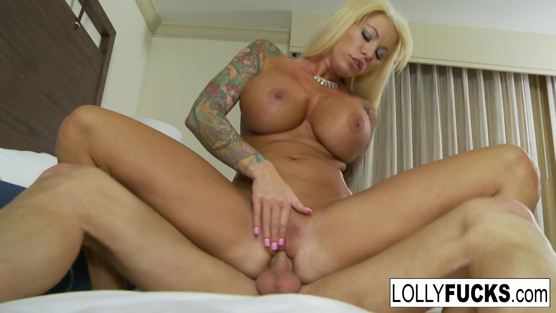 Lolly Ink in Hot Blonde Lolly Makes It Up To Him With Sex - LollyInk Romantic Tube Xxx