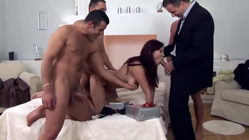 Asian Gangbanged Pussy up the skirt