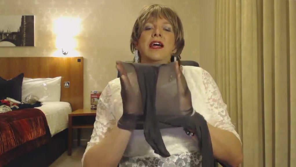 Pantyhose Play mom and son hentai porn