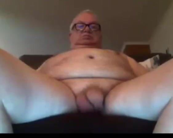 grandpa stroke on webcam Chubby fat tits