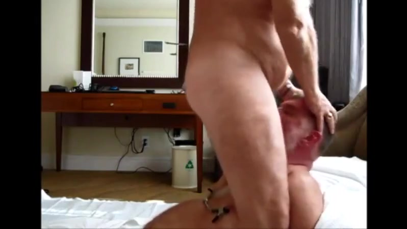 Grandad facefucking having man nude sex
