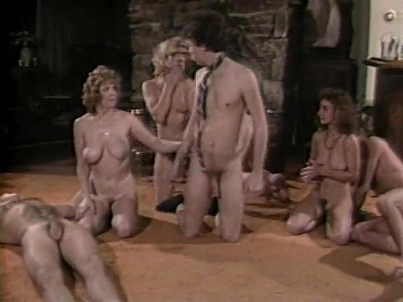 Ginger Lynn Allen, Tom Byron, Pamela Jennings in vintage xxx site Girl gets clothes ripped off porn