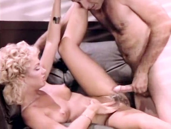 Gina Carrera, John Leslie in secretary spreads for the boss in classic porn tug and suck cock