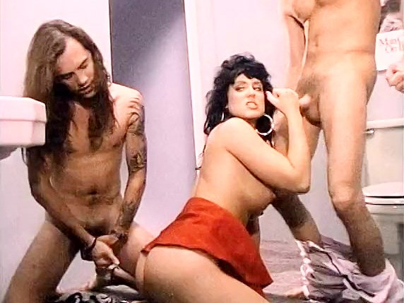 Jeanna Fine, Marc Wallice, Sikki Nixx in Jeanna Fine does a threesome in the clubs toilet