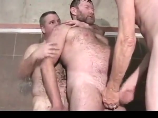 cruising...bear daddy goes to gym shower Staying friends after a break up