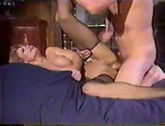 Sheri St. Claire, John Holmes, Jon Martin in classic sex scene draw pussy with type