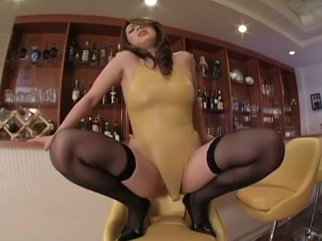 Hottest Japanese slut in Amazing High Heels, Stockings JAV video Indecent self pic nude naked