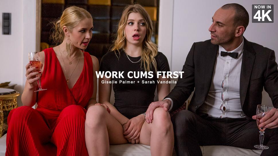Giselle Palmer & Sarah Vandella & Stirling Cooper in Work Cums First - StepMomLessons Manusia Sexvskuda