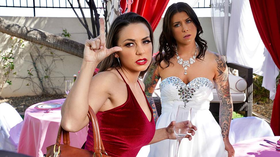 Abigail Mac & Felicity Feline in Bisexual Bride - BrazzersNetwork