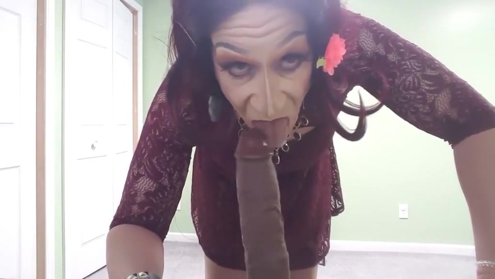 Jess Sucks Fucks Huge 10 Inch Toy (Hands Free Orgasms) Street girls talked into sex