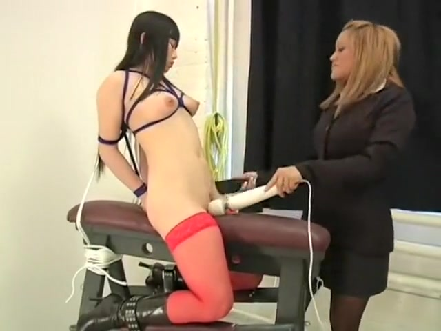 Bondage Bitch - Scene 6 Redhead body stocking