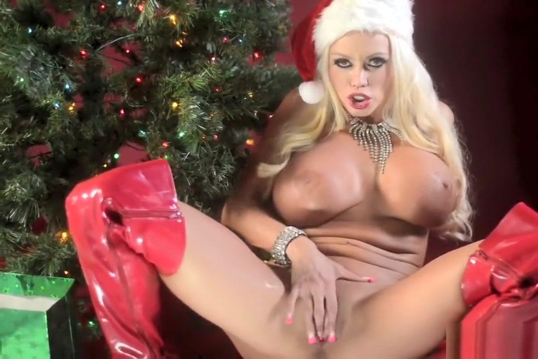 Nikita Von James Christmas Solo Lesbian asian pussy licking pink