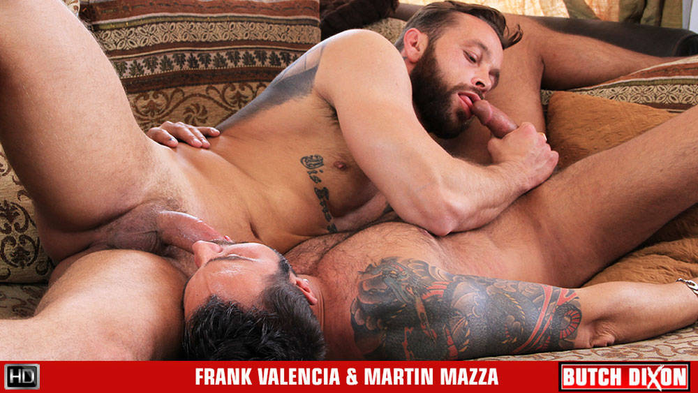 Frank Valencia & Martin Mazza - ButchDixon Lesbian woman with big breasts ate out