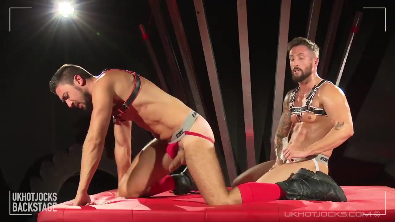 Aggro - Bts - UKHotJocks striptease of the day