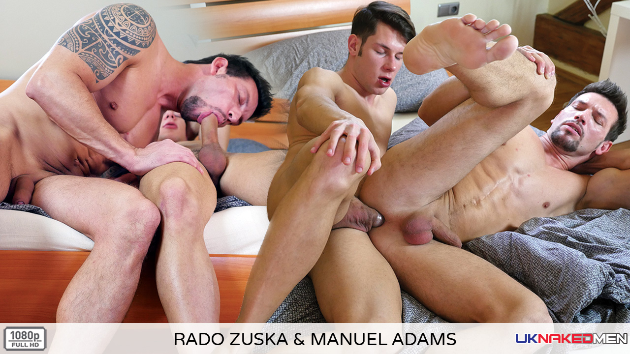 Rado Zuska & Manuel Adams - UKNakedMen cheerleader strip club