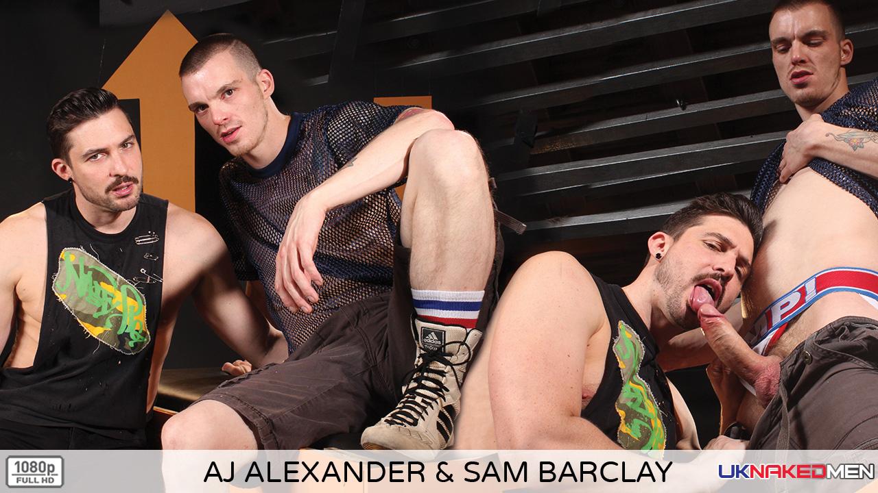 Aj Alexander & Sam Barclay - UKNakedMen Flo from progressive xxx pic