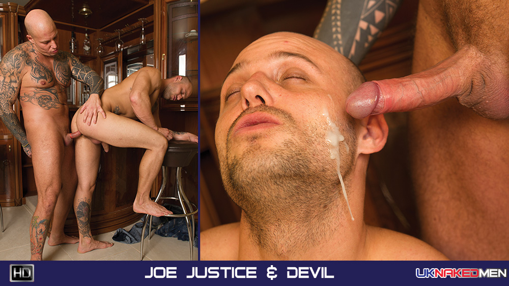 Joe Justice & Devil - UKNakedMen Nochang wife sexual dysfunction