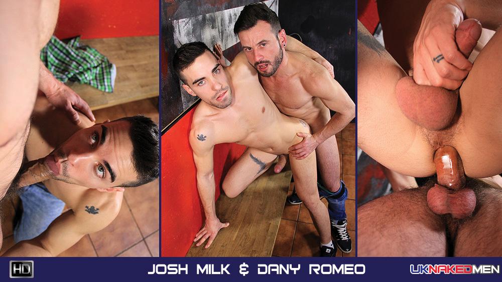 Josh Milk & Dany Romeo - UKNakedMen Capri jordan strip tease